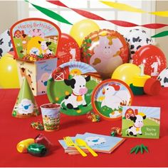 Fun Farm First Birthday Party Ideas Farm birthday Hay bales and