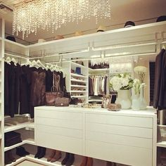 "5,553 Likes, 64 Comments - Anna Barroso (@it_girls) on Instagram: ""Who owns this? #closet #clothes #shoes #dream"""
