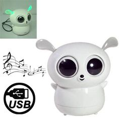 UFO Habib Monkey Cartoon Mini USB Rechargeable Speaker