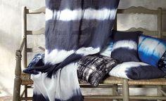 Tie dye curtains or scarves