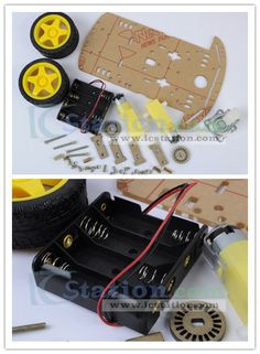 Smart/Tracking/Robot Car Chassis with Code Disk ($16.1 + Free Shipping)  http://www.icstation.com/product_info.php?products_id=2066
