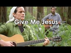 Couple performs a heartfelt rendition of 'Give Me Jesus'. I Must Tell Jesus, Give Me Jesus, My Jesus, Worship Songs, Praise And Worship, Beautiful Songs, Beautiful Cover, Spiritual Music, Southern Gospel Music