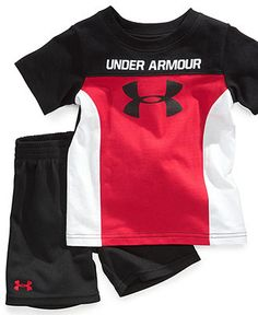 Under Armour Baby Set Mens Polo T Shirts, Boys T Shirts, Mens Sweatshirts, Boys Summer Outfits, Cute Girl Outfits, Kids Outfits, Hype Clothing, Kids Clothes Boys, Cute Kids Fashion