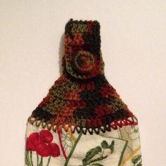 Ravelry: Easy Crochet Dish Towel Topper pattern by Dawn Lawson