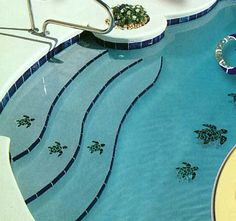 Cool pool decor