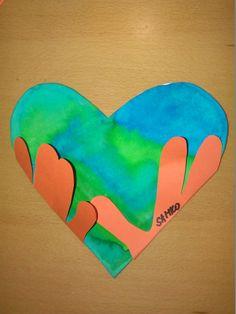 Srdce - Zem v rukách.