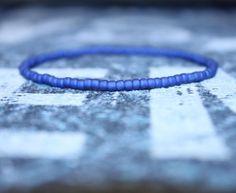 Men's bracelet, bracelet for men, mens bead bracelet, beaded bracelet, bracelet for men, Small bead bracelet, Blue bracelet by DESERTDUSTMEN on Etsy