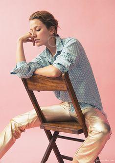 NANE FEIST, EDIT NO. 4, DENIM, STYLIST: Brie Welch. Found on Garance Doré.