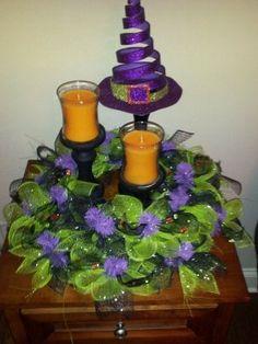 Halloween Table Wreath