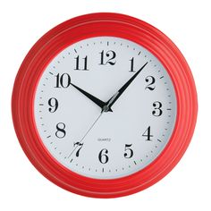 Premier Housewares Red Wall Clock – 2200422 – Add a touch of warmth and luxury to your home with the red collection of homeware and cookware from Premier Housewares, a leading supplier and distributor to the retail trade of kitchenware, tabletop & bathroom accessories, soft furnishings, decorative accessories, lighting and occasional furniture. Purchase from a host of online stores and independent local retailers and please visit http://www.premierhousewares.co.uk for trade enquiries.