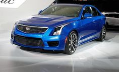 2016 Cadillac ATS-V Coupe and Sedan: 455 M3-Baiting Horsepower! - Official Photos and Info