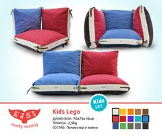 Kids large floor pillows cushion covers | Floor pillows, Large floor ...