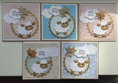 Kids Cards, Baby Cards, Marianne Design, Cricut, Stamp, Holiday Decor, Card Ideas, Babies, Decorated Binders