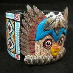 Renaissance Gal of San Antonio: Owl Kachina by Deb Hart