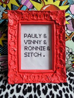 Jersey Shore cross stitch