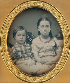 ADORABLE YOUNG SIBLINGS GIRL BRAIDS FRIGHTENED BOY 1/6 PLATE DAGUERREOTYPE D536 | Collectibles, Photographic Images, Vintage & Antique (Pre-1940) | eBay!