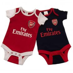 Arsenal 2 Pack Body Suits various sizes Arsenal Fc, Arsenal Club, Chelsea Liverpool, Chelsea Fc, Baby & Toddler Clothing, Toddler Outfits, Arsenal Merchandise, European Soccer, Suits