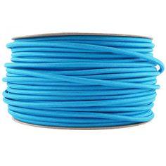 Azul Turquesa Cable Textil