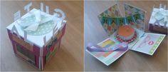 Explosion-Box zum Geburtstag