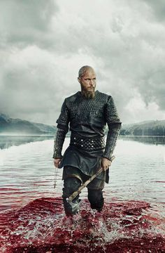 Ragnar Lothbrok played by Travis Fimmel in Vikings, Season 3