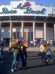 Rose Bowl. UCLA vs. ASU!