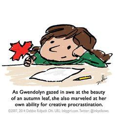 Creative procrastination