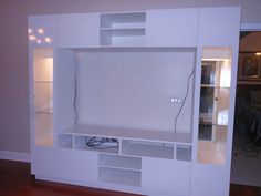 Tyler Wall Unit white gloss
