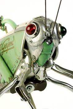 The awesome spare-parts sculpture of Edouard Martinet