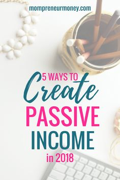 It's time for you to start generating more income passively so that you can actively have more time to spend with your family and more financial freedom. Click here to learn the 5 ways to create more passive income with your business starting now!