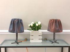 Coppia di lampade con paralumi destrutturati a contrasto by Tweak design  collezione P/E 2017 sale for 120 euro