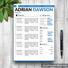 find this pin and more on cv resume templates in ms word - Simple Resume Templates Word