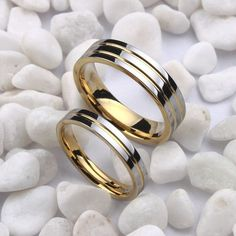 Size tungsten wedding bands ring,couple ring, engagement ring,can engraving (price isintothea – Anillos De Compromiso Tungsten Wedding Rings, Gold Wedding Rings, Wedding Ring Bands, Gold Ring, Tungsten Jewelry, His And Hers Rings, Matching Rings, Matching Couples, Ring Set