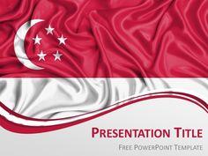 South korea flag powerpoint template presentationgo powerpoint free flag singapore powerpoint template toneelgroepblik Image collections