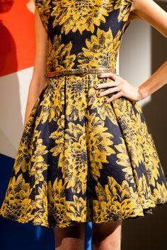 Sunflower dress.