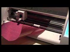 Cameo Cutter - Heat Transfer Vinyl Logo - YouTube
