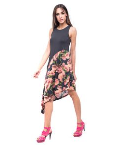 Vestido  mujer GINES  con aires muy urbanos. Bonito y original vestido para tus looks más chic.