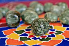 Pedra Serafinita | Amuleto do Dia 2# | 18 de Maio de 2017 | Lado Violeta | #serafinite #crystals #amulet #mysticdecor