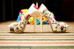 Custom Wedding shoes Wedding Shoes, Weddings, Bhs Wedding Shoes, Wedding Boots, Wedding Slippers, Wedding, Marriage, Bridal Shoes, Mariage
