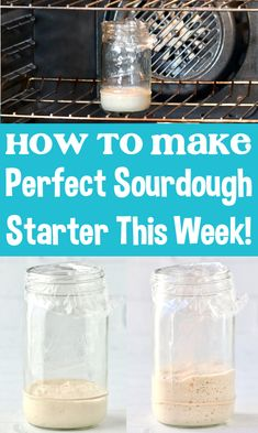 Sourdough Bread Starter Recipe - Easy Feeding Tips and Schedule for a PERFECT starter! Go grab the recipe and get yours started this week! Tasty Bread Recipe, Bread Recipes, Baking Recipes, Bread Making, How To Make Bread, Baking For Beginners, Sourdough Bread Starter, Winter Recipes, Savoury Dishes