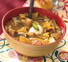 Chicken Chili-Style Soup
