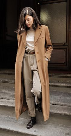 long camel coats for women | ... Design Trends Women's Long Wool Camel Winter Coats 2012 Pictures