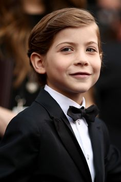 Every Picture-Perfect Moment From Jacob Tremblay's Very First Trip to the Oscars 02/28/16
