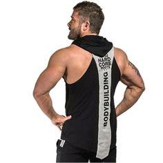 NEW University of Ibiza Stringer Vest Men/'s Muscle Tank top Athletics Department