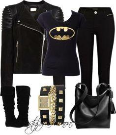 Batman shirt, love the watch too!