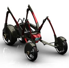 M.S.Q.T.O Quad Bike for New Biking Experience from All Aspects | Tuvie