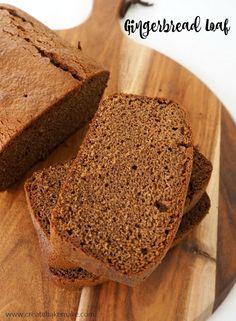 Easy Gingerbread Loaf Recipe