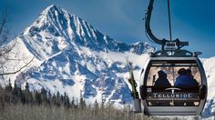 """""""At an elevation of 9,500 feet, Mountain Village, Colorado, is a pedestrian-friendly community and home to the Telluride Ski Resort. No need for a car once you are here."""" http://www.foxnews.com/travel/2015/10/09/telluride-is-easier-to-reach-than-ever-before/"""