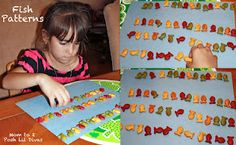 Goldfish Patterns with Dr. Seuss' One Fish, Two Fish, Red Fish, Blue Fish