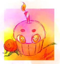 fnaf 2 cake by 222452.deviantart.com on @DeviantArt