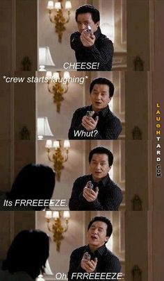Jackie Chan Cheese